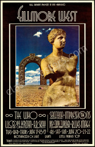 BG-178 The Who Poster by David Singer
