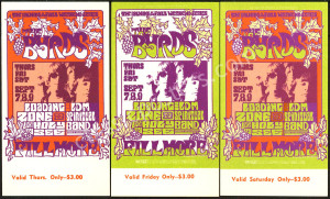 Colorful BG-82 and BG-83 Ticket Sets