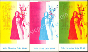 Colorful BG-103 and BG-104 Ticket Sets