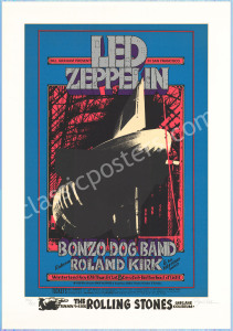 Superb Signed BG-199 Led Zeppelin Serigraph