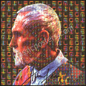 Popular Timothy Leary-Signed Blotter Art